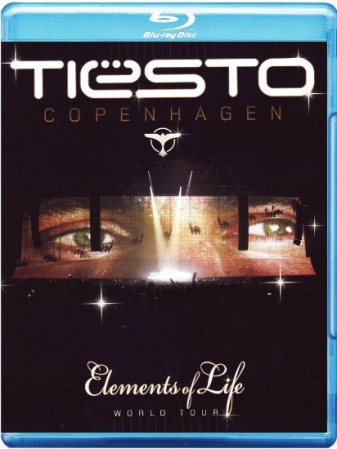 Blu-Ray Tiesto - Copenhagen - Elements Of Life (Blu-Ray Duplo)
