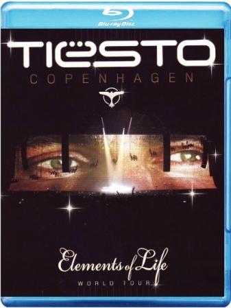 Blu-Ray Tiesto - Copenhagen - Elements Of Life (Blu-Ray Duplo)