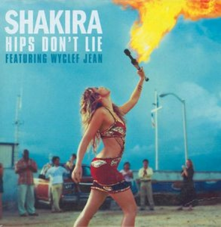 Shakira Featuring Wyclef Jean - Hips Don t Lie Single (CD)
