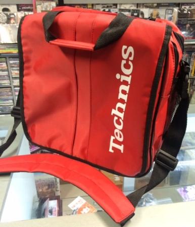 Bag Dj Technics - (MODELO UDG VERMELHA)