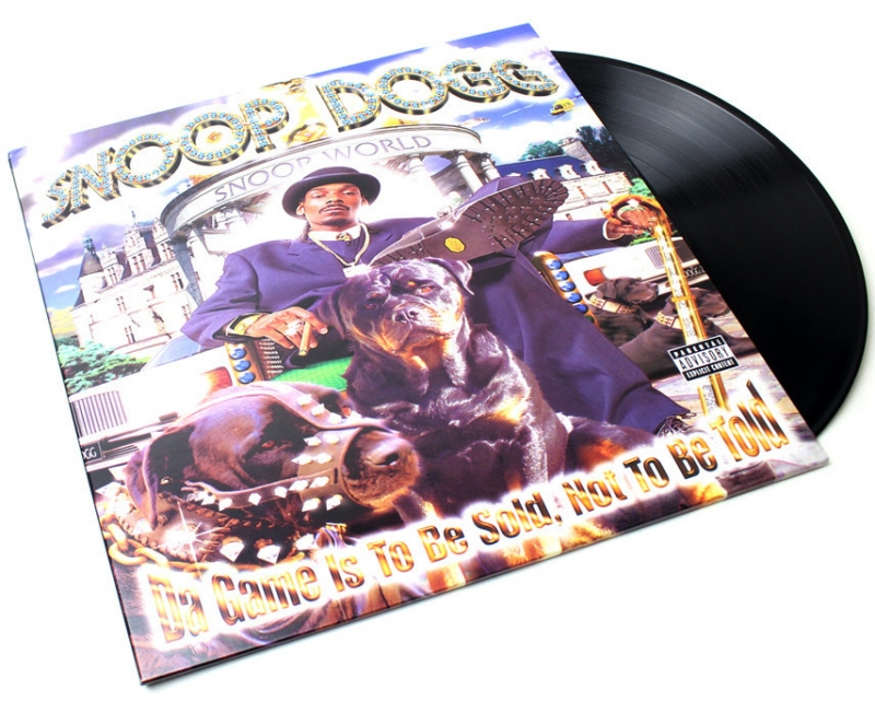 LP Snoop Dogg - Da Game Is To Be Sold, Not To Be Told (VINYL DUPLO)