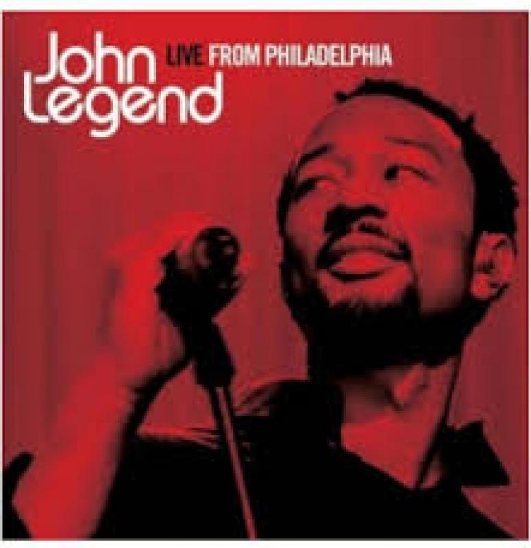 John Legend - Live  Philadelphia (CD)