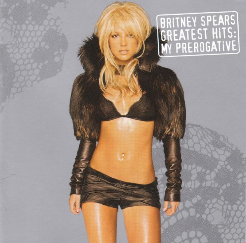 Britney Spears - Greatest Hits My Prerogative (CD) IMPORTADO (LACRADO)(888750723123)