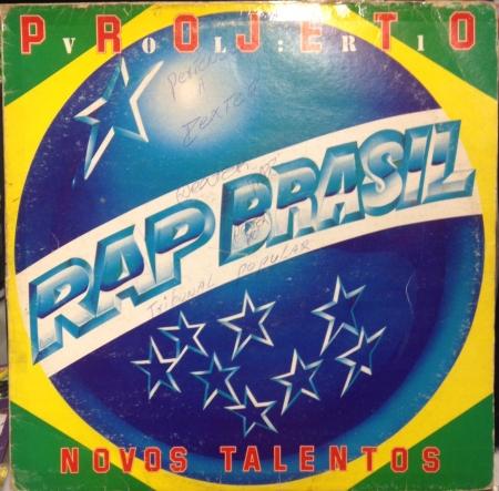LP PROJETO RAP BRASIL - NOVOS TALENTOS