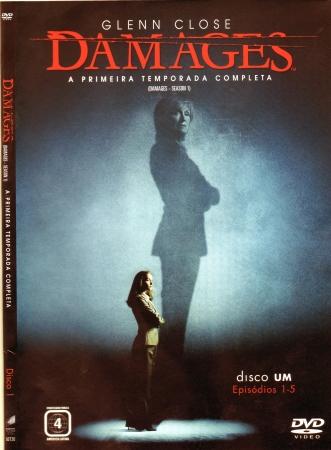Glenn Close - Damages A Primeira Temporada (DVD)