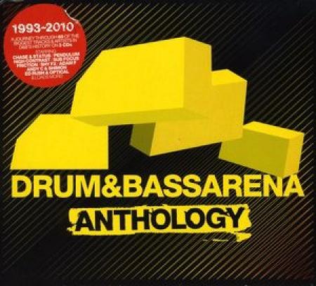 Drum & Bass Arena Anthology / Various Artists (CD TRIPLO IMPORTADO LACRADO)
