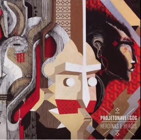 LP Gog e Projeto nave - Heroinas e Herois (VINYL COMPACTO 7 POLEGADAS)