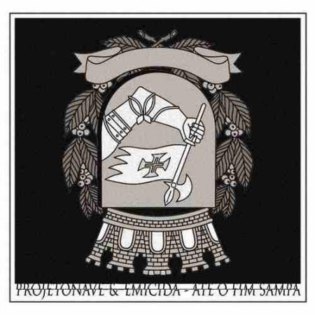 LP Emicida e Projeto Nave - Ate o Fim Sampa (vinyl compacto 7 polegadas)