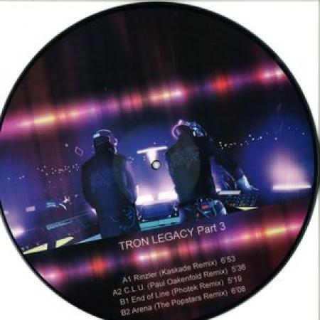 LP Daft Punk - Tron Legacy Part 3 (VINYL PICTURE IMPORTADO)