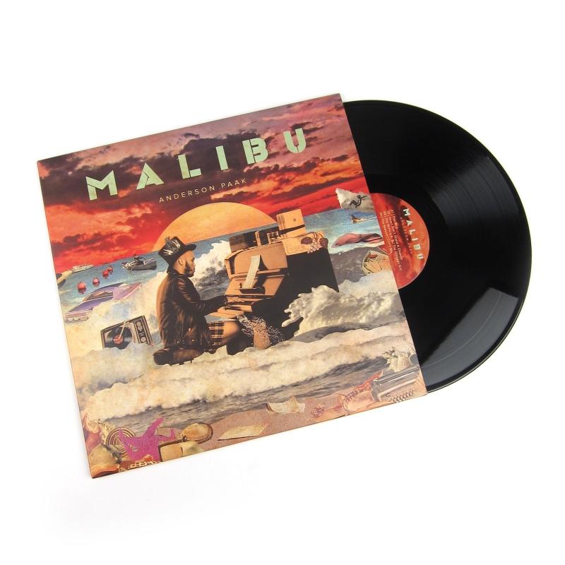 LP Anderson Paak - MALIBU (VINYL DUPLO IMPORTADO LACRADO)