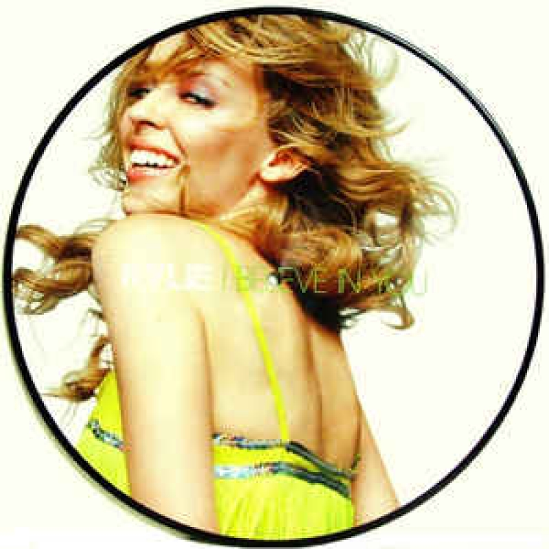 LP Kylie Minogue - I Believe In You (VIINYL SINGLE PICTURE IMPORTADO)