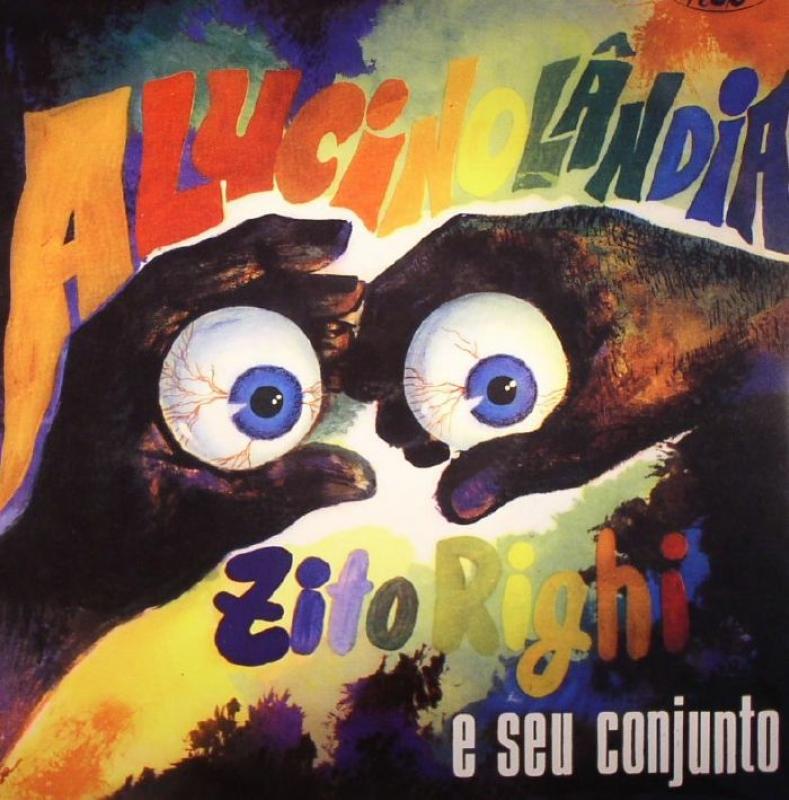 LP Alucinolandia - ZITO RIGHI E SEU CONJUNTO (VINYL IMPORTADO LACRADO MADE JAPAN)