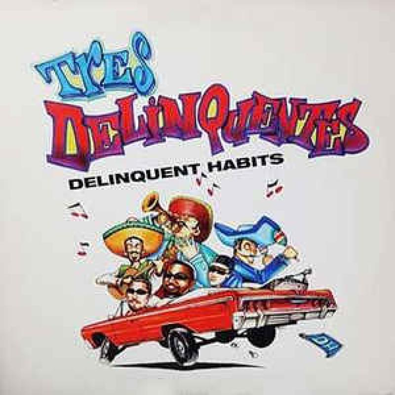 LP Delinquent Habits - Tres Delinquentes / What It Be Like (VINYL SINGLE USADO EM OTIMO ESTADO)