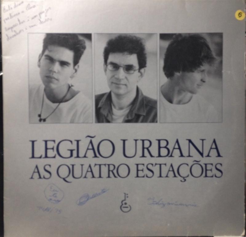 LP LEGIAO URBANA - AS QUATRO ESTACOES (VINYL USADO EM OTIMO ESTADO)
