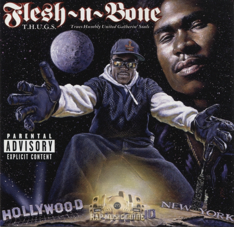 FLESH N BONE - T.H.U.G.S. TRUES HUMBLY UNITED GATHERIN SOULS (CD)