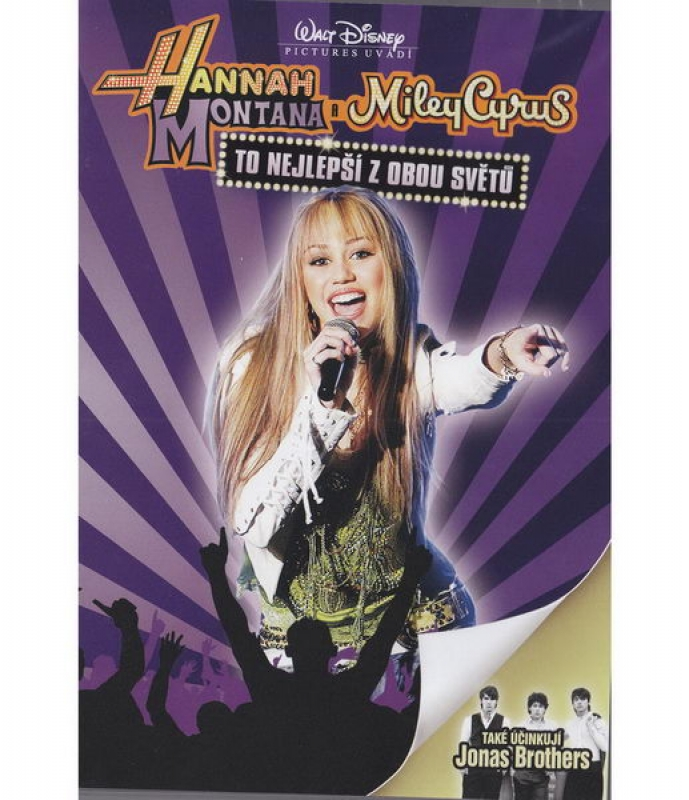 Hannah Montana Miley Cyrus - Best of Both Worlds Concert
