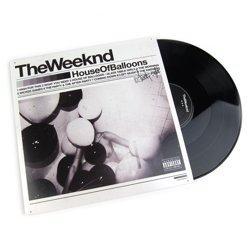 LP The Weekend - House of Balloons (VINYL DUPLO IMPORTADO LACRADO)