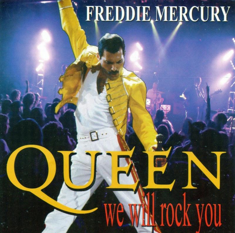 Freddie Mercury - We Will Rock You (CD)