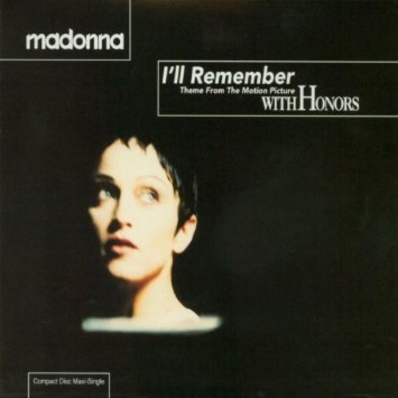 Madonna - Ill Remember (CD SINGLE IMPORTADO U.S.A) SEMI NOVO