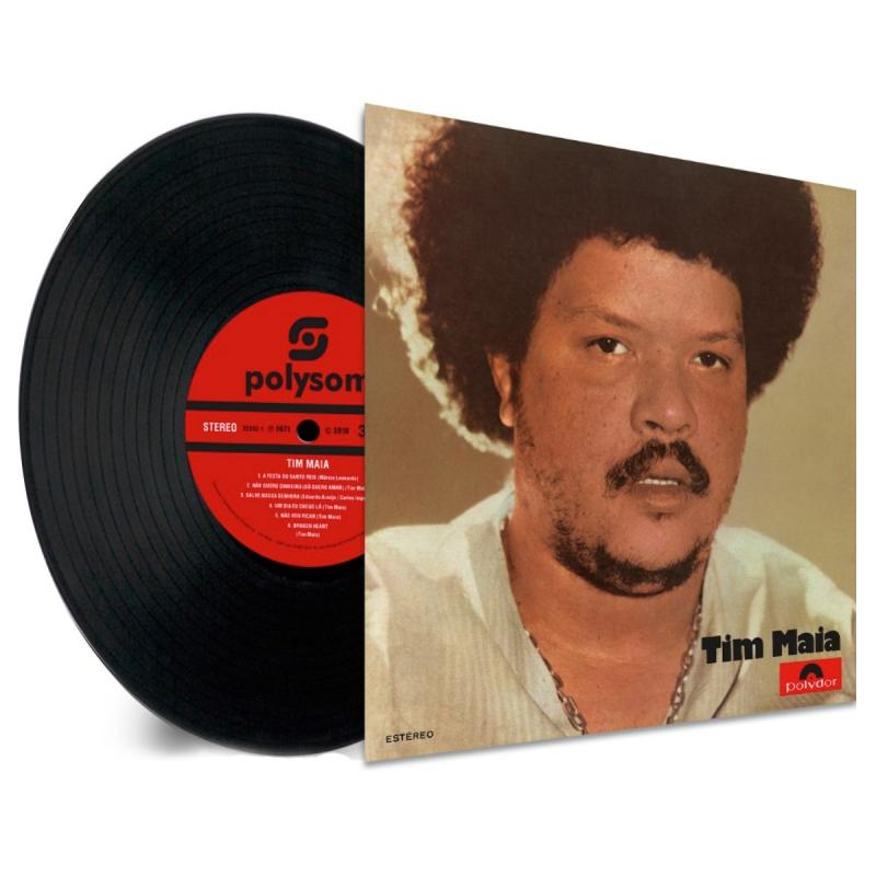 LP Tim Maia - 1971 (VINYL 180 GRAMAS LACRADO POLYSOM)