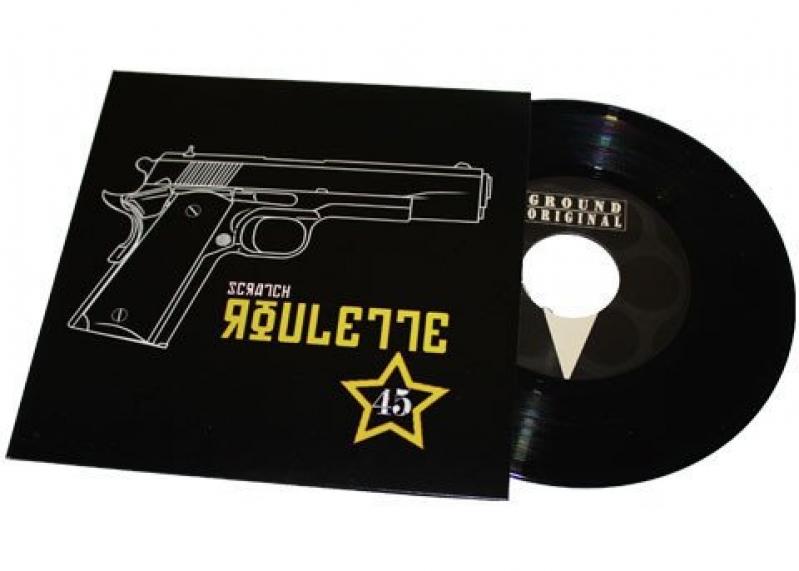 LP DJ JS-1 Scratch Roulette 45 RPM (VINYL COMPACTO DE EFEITOS IMPORTADO)