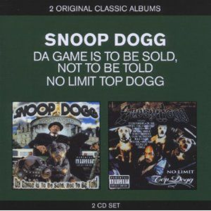 Snoop Dogg - Da Game Is to Be Sold Not to Be Told (CD DUPLO IMPORTADO LACRADO)