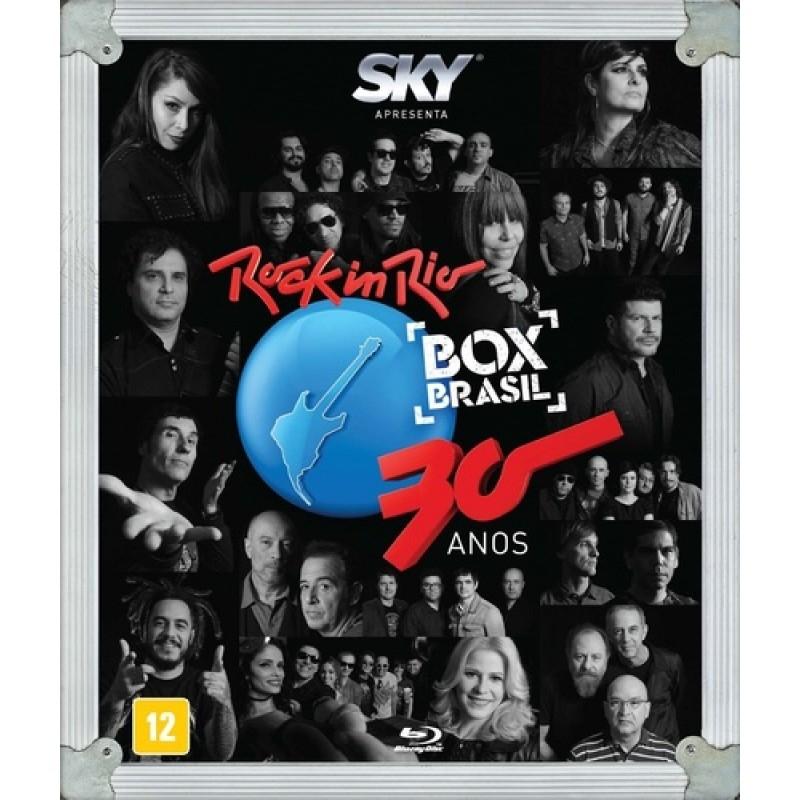 Rock In Rio 30 Anos - Box Brasil - Blu-Ray