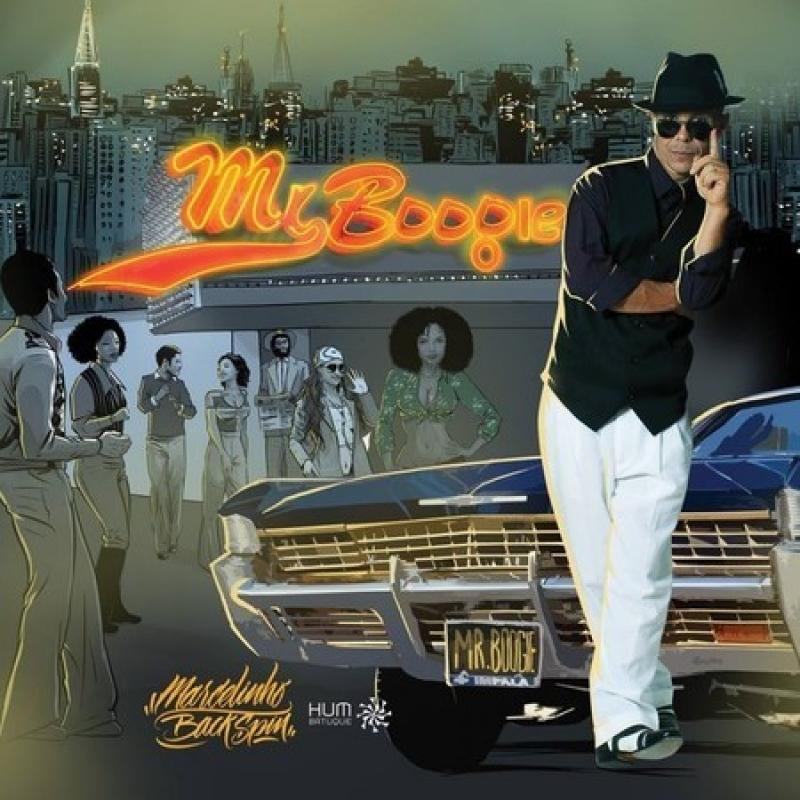 Marcelinho Backspin - Mr Boogie CD