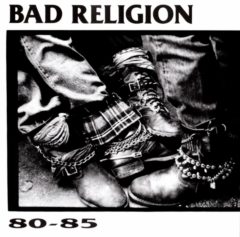 Bad Religion - Albums - 80-85 (CD USADO)