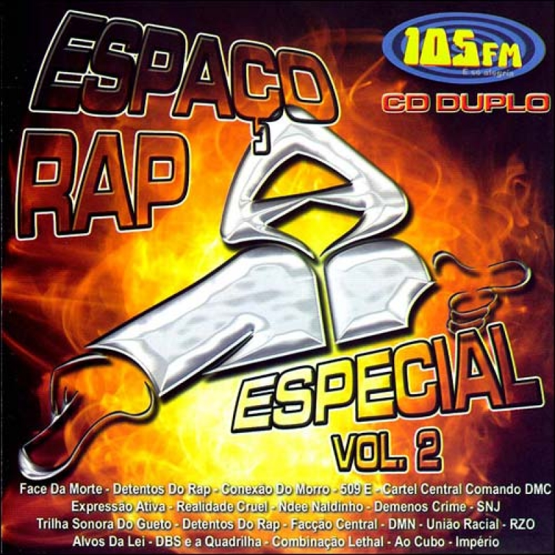 Espaço Rap - Vol. 2 (CD)(Duplo) LACRADO
