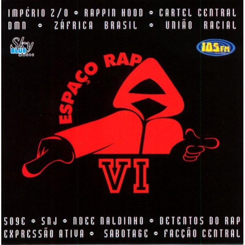 Espaço Rap - Volume 6 Lacrado