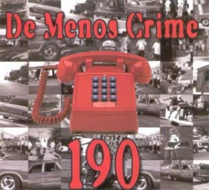 De Menos Crime - 190 (CD SINGLE)