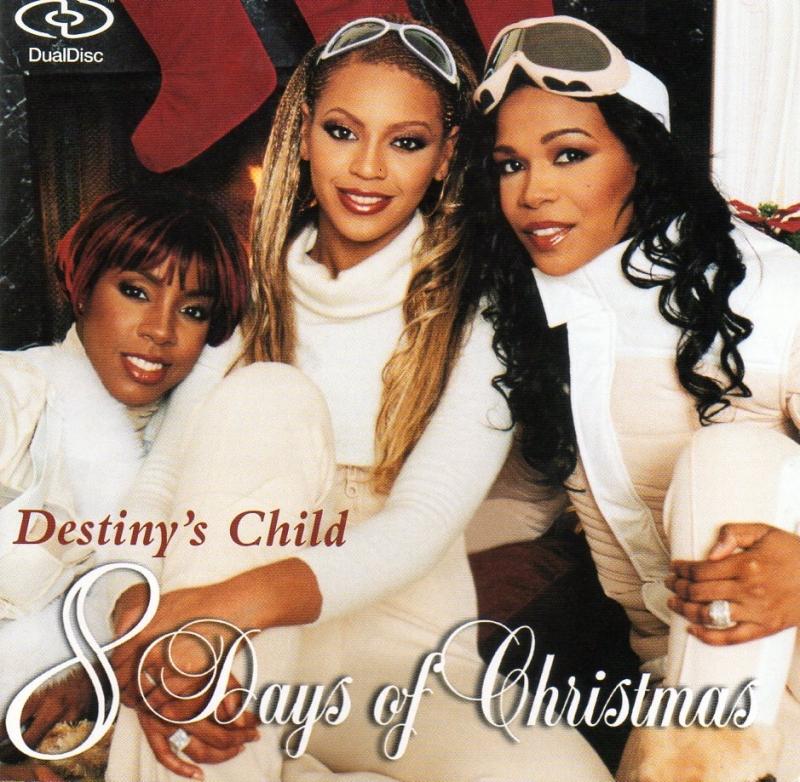 DESTINY CHILD - 8 Days of Christmas (DUALDISC) IMPORTADO (CD/DVD)