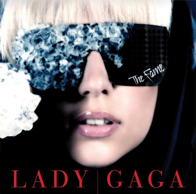 Lady Gaga - THE FAME (IMPORTADO) (CD) LETRA ESCRITA EM VERMELHO