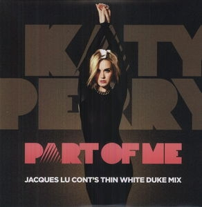 LP Katy Perry - Part of Me (Thin White Duke Remix) (VINYL SINGLE IMPORTADO LACRADO)