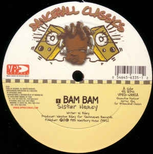LP Sister Nancy - Bam Bam (VINYL SINGLE IMPORTADO LACRADO)
