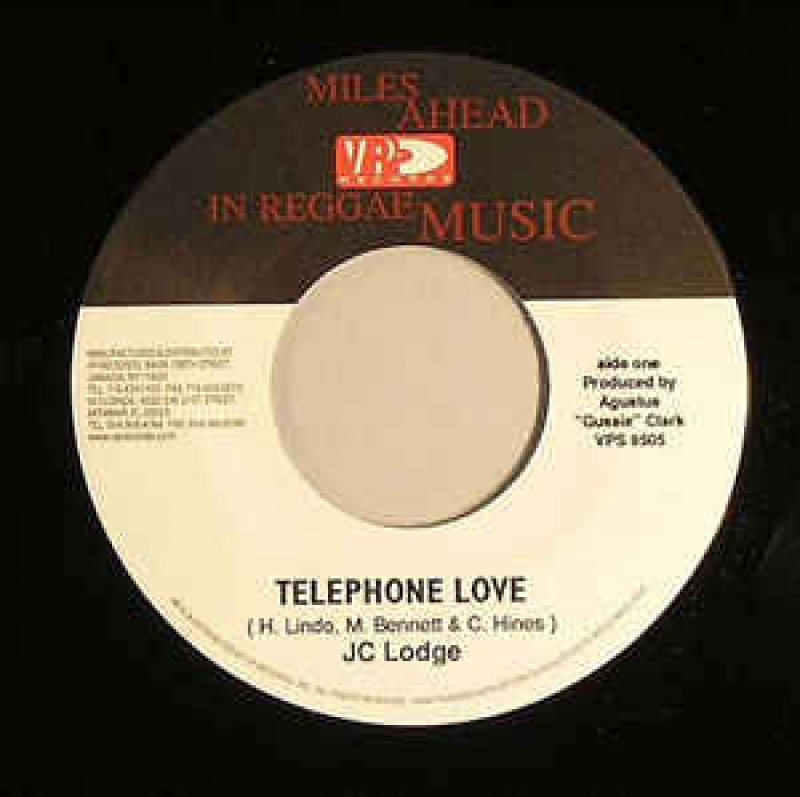 LP JC Lodge - Telephone Love/De Pon Mi Mine (VINYL COMPACTO 7 POLEGADAS IMPORTADO)