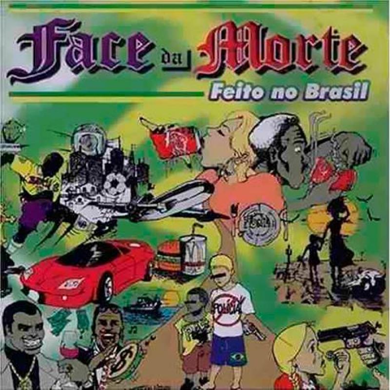 Face da Morte - Feito no Brasil (CD DUPLO) LACRADO (7898329811017)