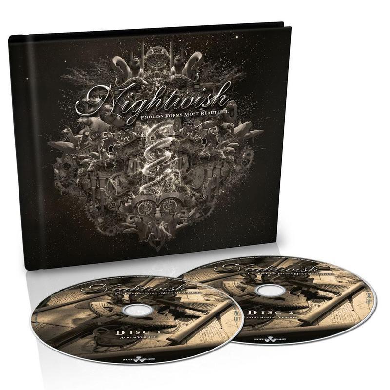 Nightwish - Endless Forms Most Beautiful (CD DUPLO + MEDIA BOOK)