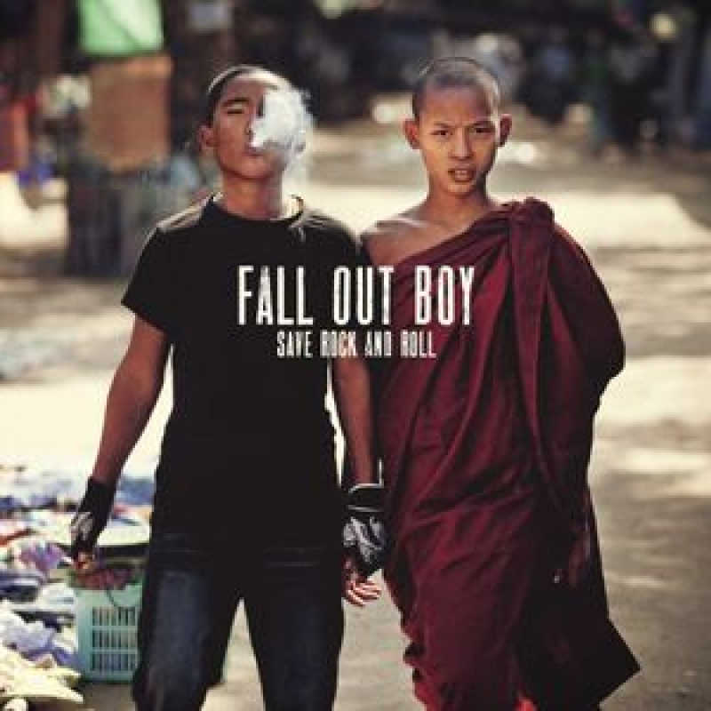 LP Fall Out Boy - Save Rock & Roll (VINYL DUPLO IMPORTADO LACRADO - 10 POLEGADAS)