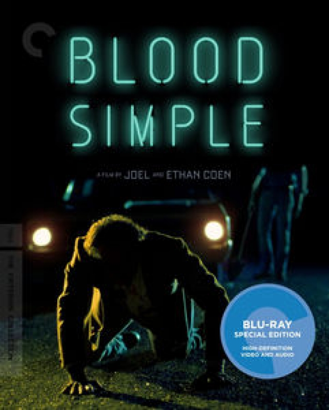 Blu-ray 4k Blood Simple (criterion) ( Blood Simple BLU-RAY 4k IMPORTADO LACRADO SPECIAL EDITION)