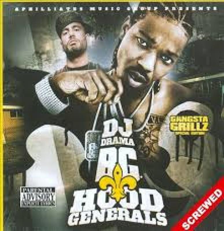 Dj Drama - Hood Generals Screwed (CD)