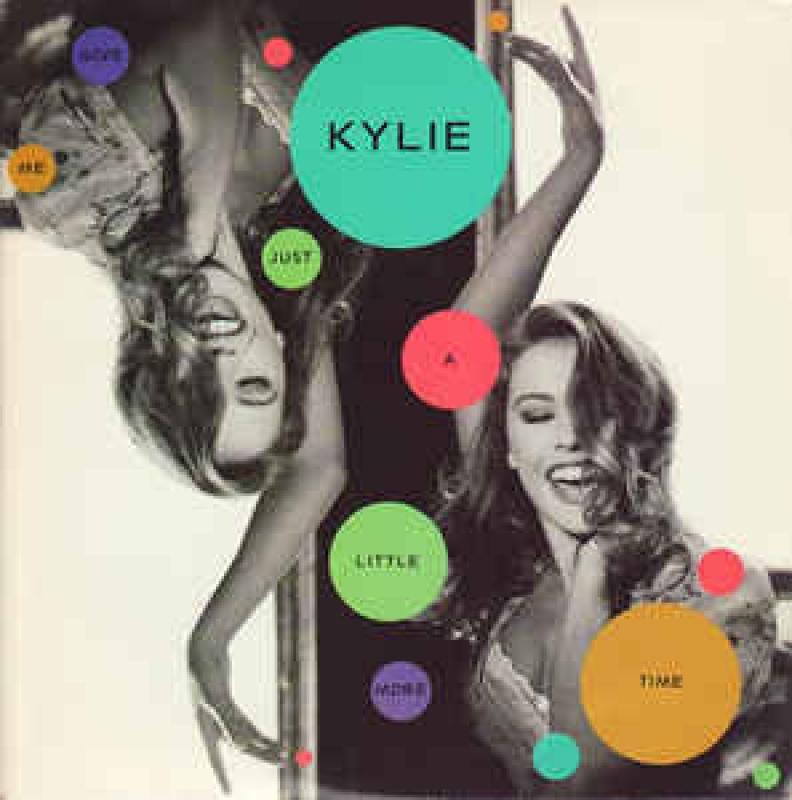 LP Kylie Minogue - Give Me Just A Little More Time (VINYL COMPACTO 7 POLEGDAS)