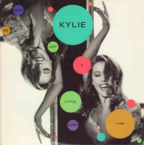 LP Kylie Minogue - Give Me Just A Little More Time (VINYL COMPACTO 7 POLEGDAS)