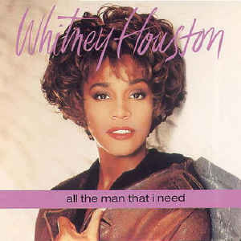 LP Whitney Houston - All The Man That I Need (VINYL COMPACTO 7 POLEGADAS)