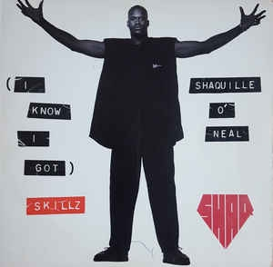 LP Shaquille ONeal - (I Know I Got) Skillz (VINYL SINGLE IMPORTADO)