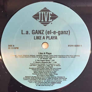 LP L.A. Ganz - Like A Playa (VINYL SINGLE IMPORTADO)