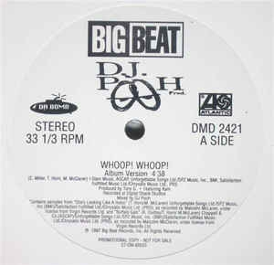 LP D.J. Pooh - Whoop! Whoop! (VINYL SINGLE IMPORTADO)