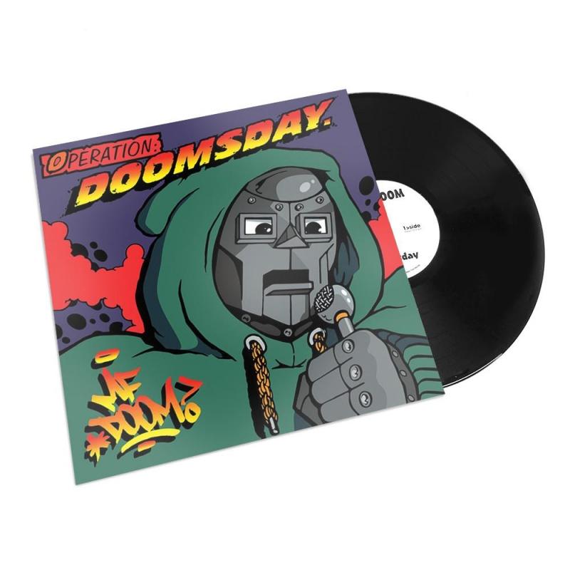 LP MF Doom - Operation Doomsday Duplo Importado Lacrado Incluindo Um Poster De 18x24