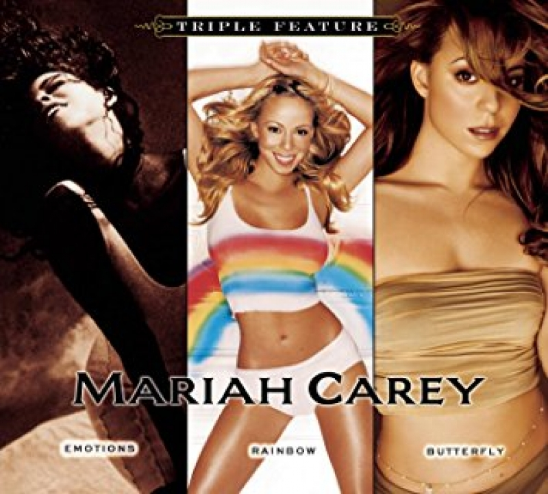 MARIAH CAREY - Emotions Rainbow Butterly (BOX C 3 CDS) IMPORTADO LACRADO
